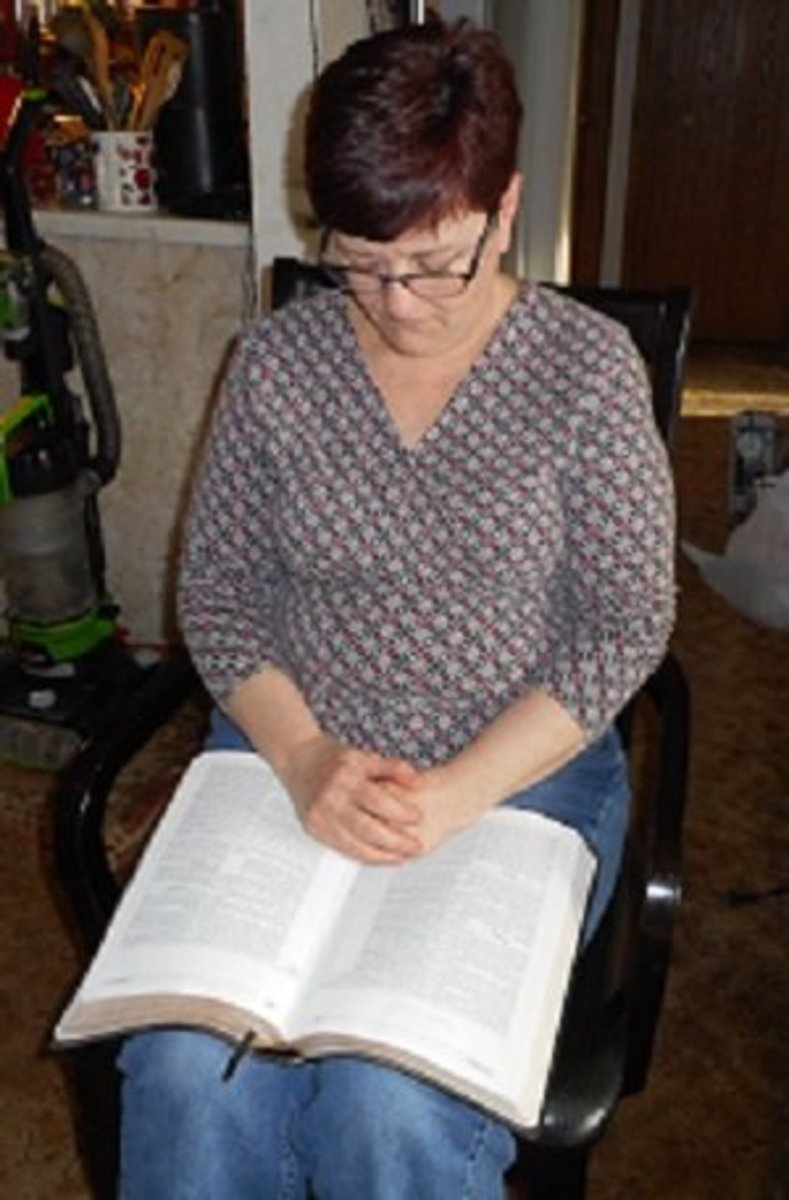 Take a little time to read your Bible and pray every day.