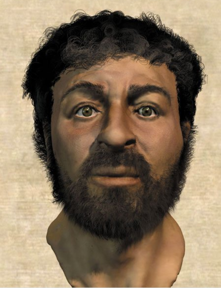 Possible historical Jesus, based on the features of men during that age.