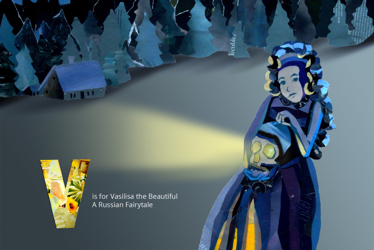 A page from my FairyTales Alphabet Book