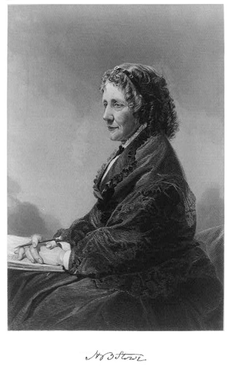 Harriet Beecher Stowe Portrait