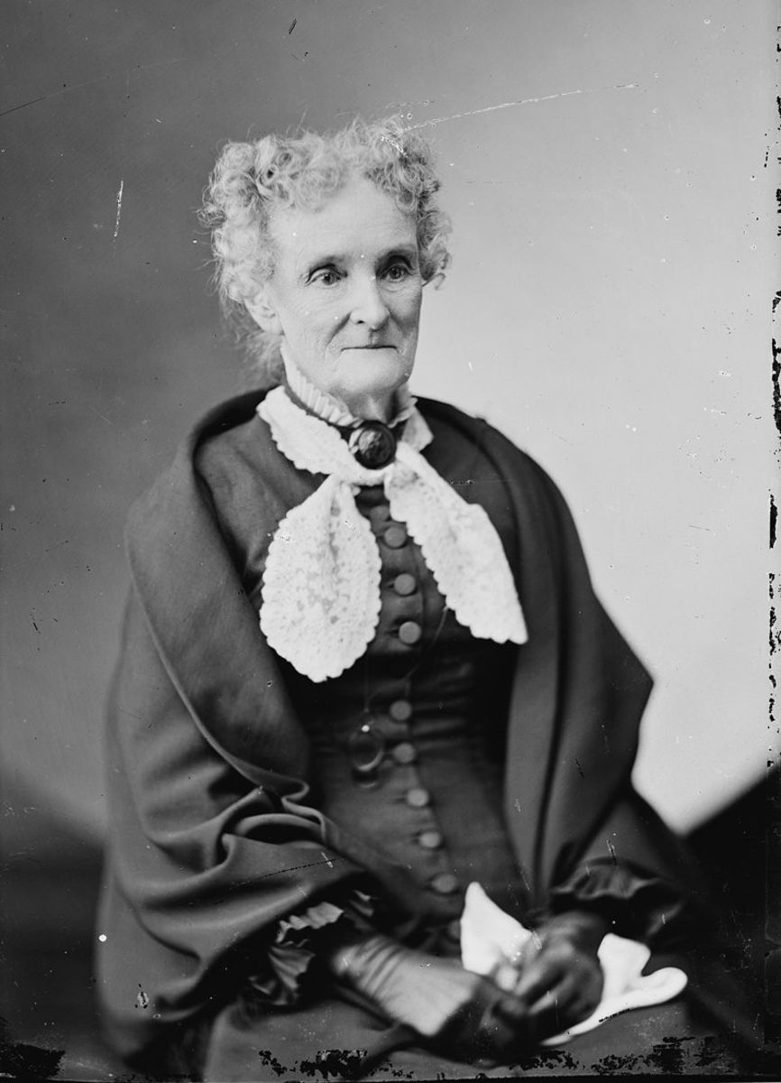 "Margaret ""Peggy"" Eaton in later life."