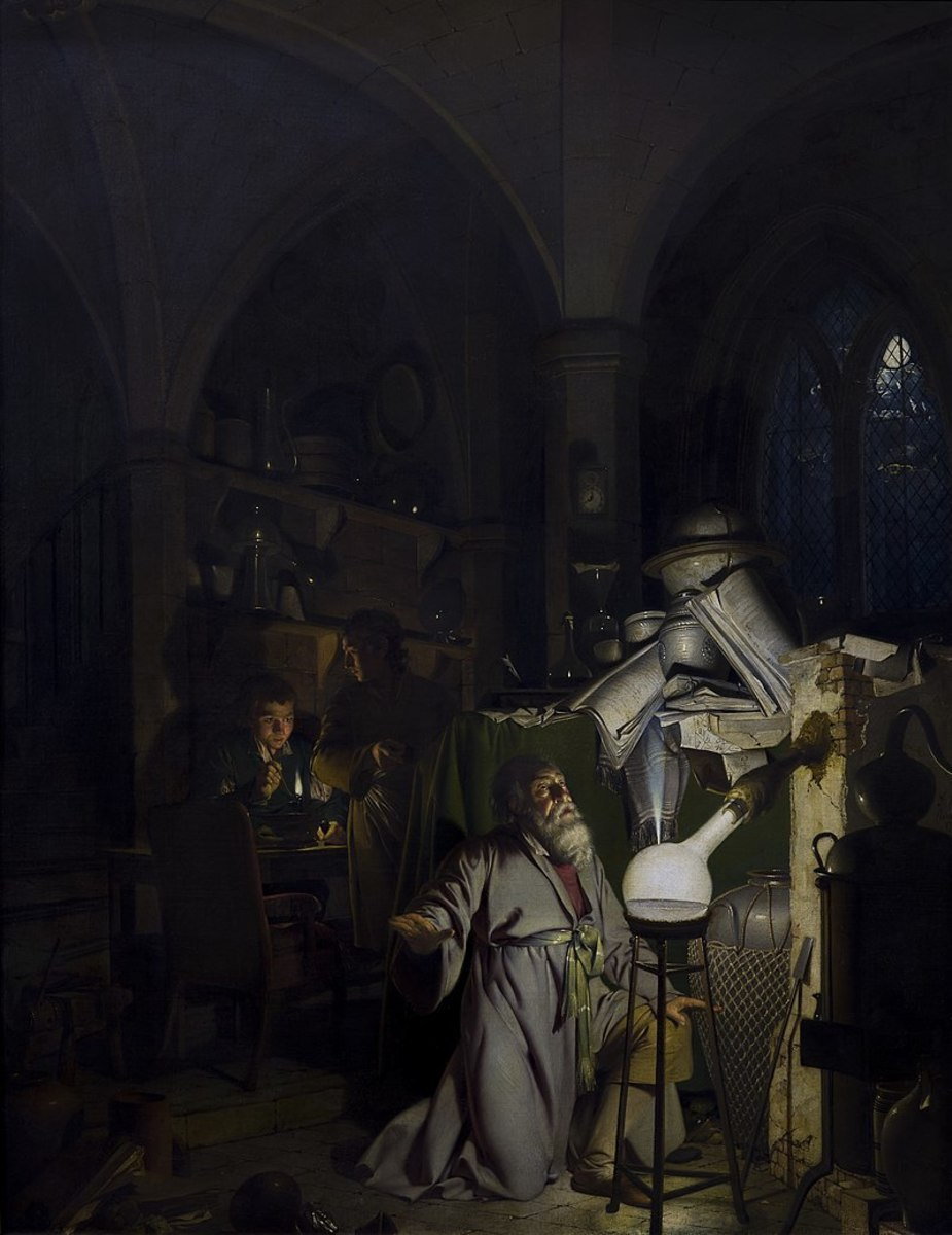 The Alchemist in Search of the Philosopher's Stone