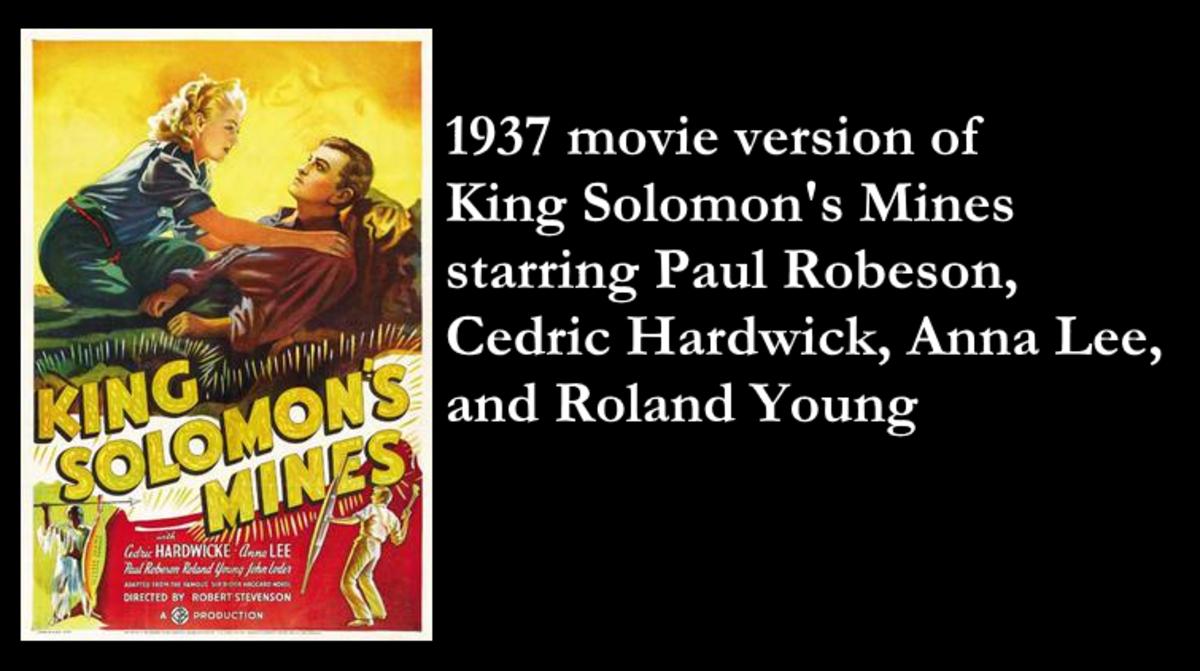 1937 Movie King Solomon's Mines