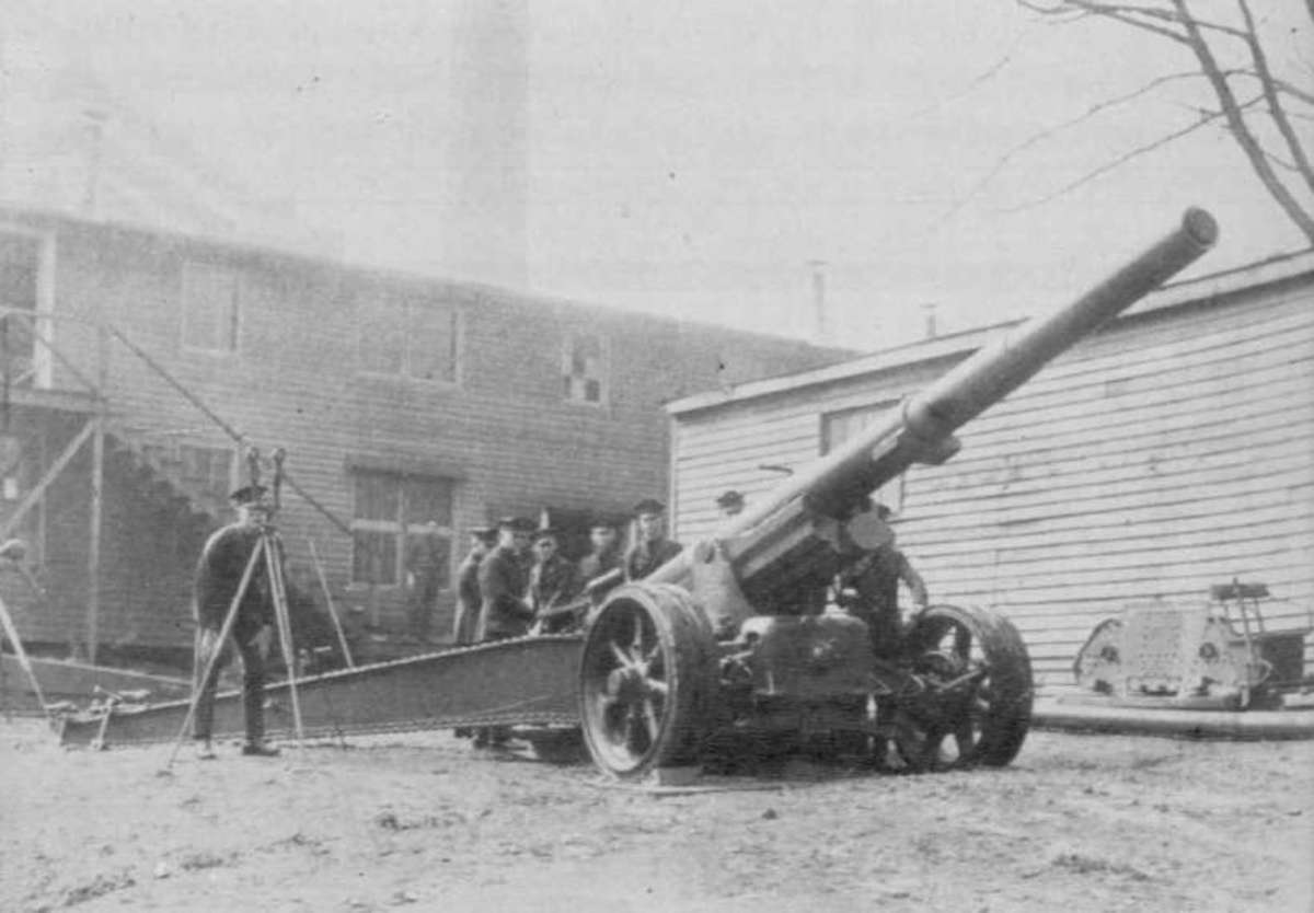 The French were convinced of the overwhelming preeminence of artillery in modern war, as can be illustrated by guns such as their excellent Canon de 155mm gpf.