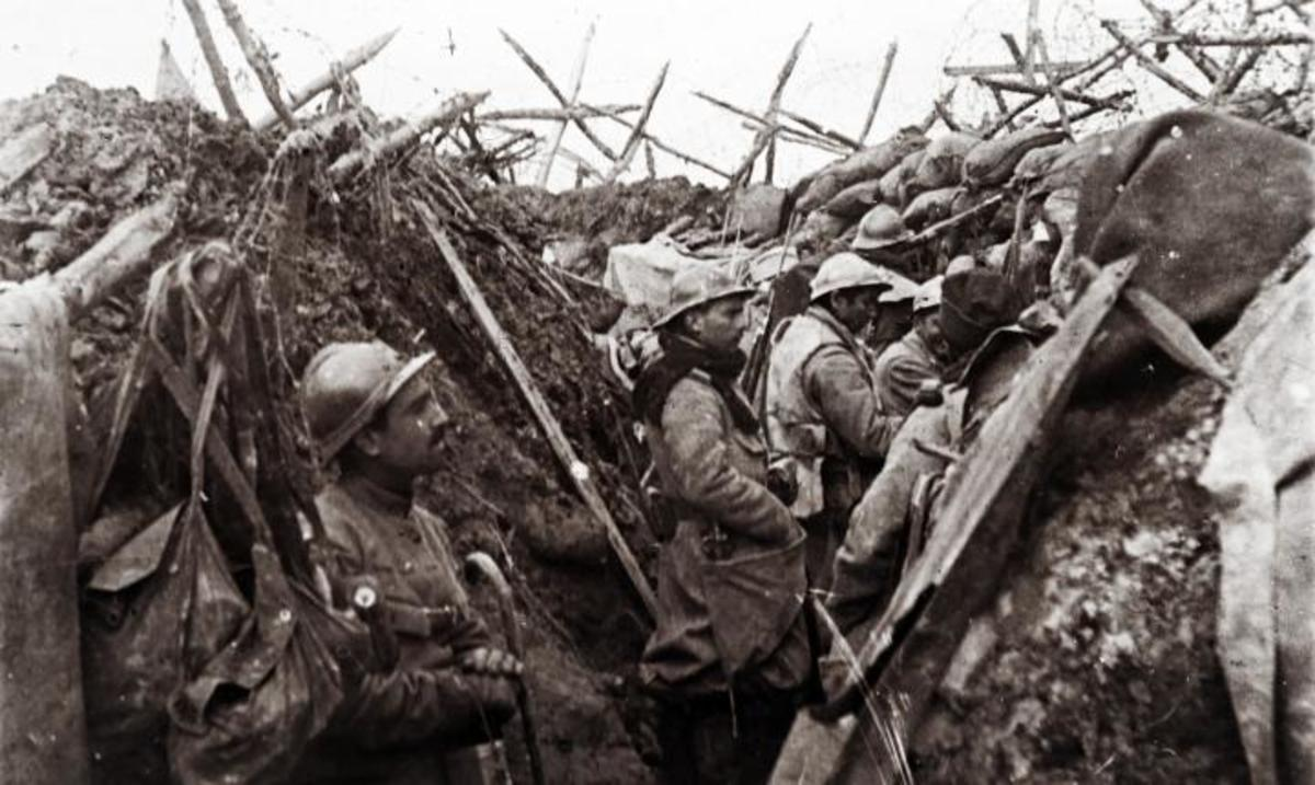 The French were fixated upon their experience in WW1, which prevented them from effectively responding to changing times.