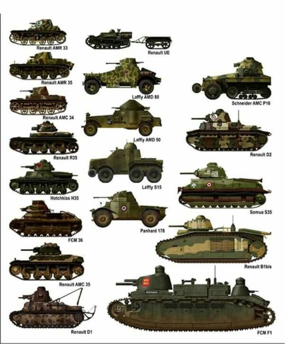 French tanks from WW2