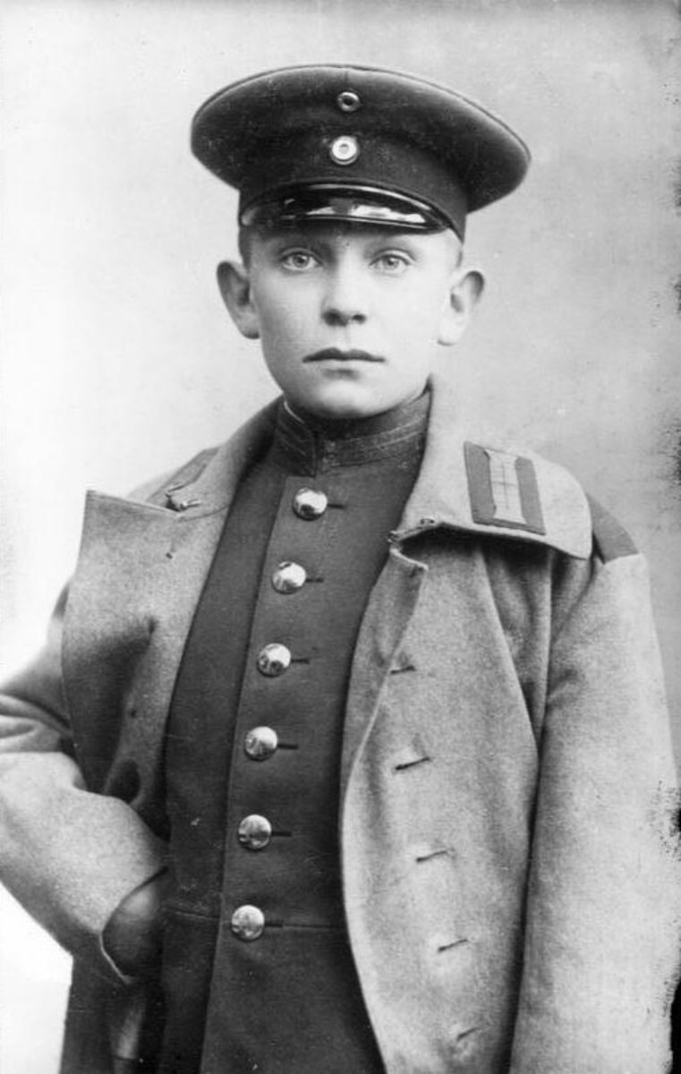 Hermann Goering at the age of fourteen.