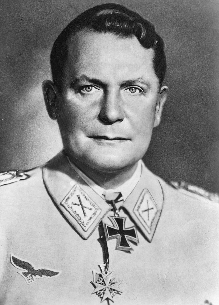 Goering during his 52nd birthday (1945).
