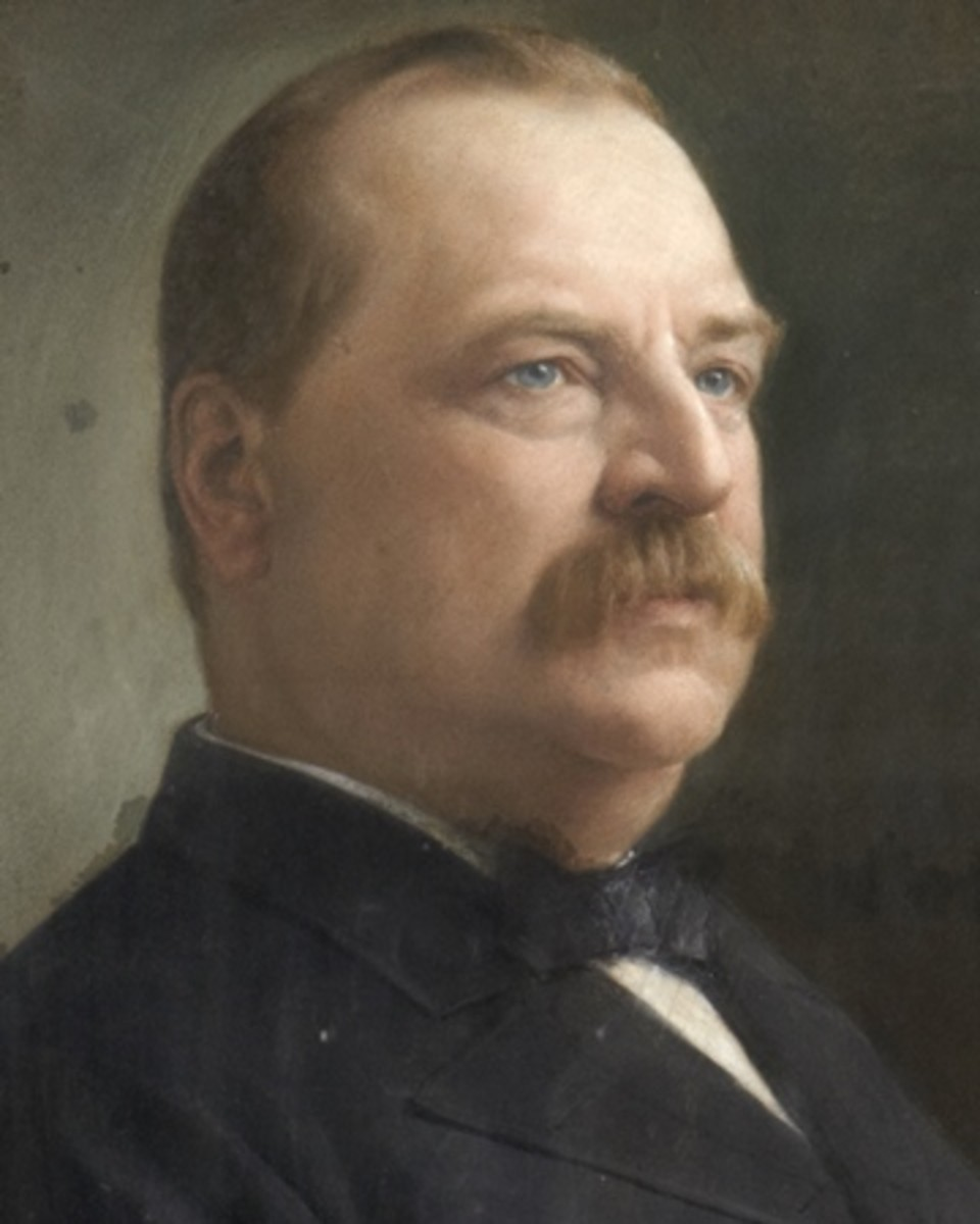 Grover Cleveland, 22nd and 24th President of the United States