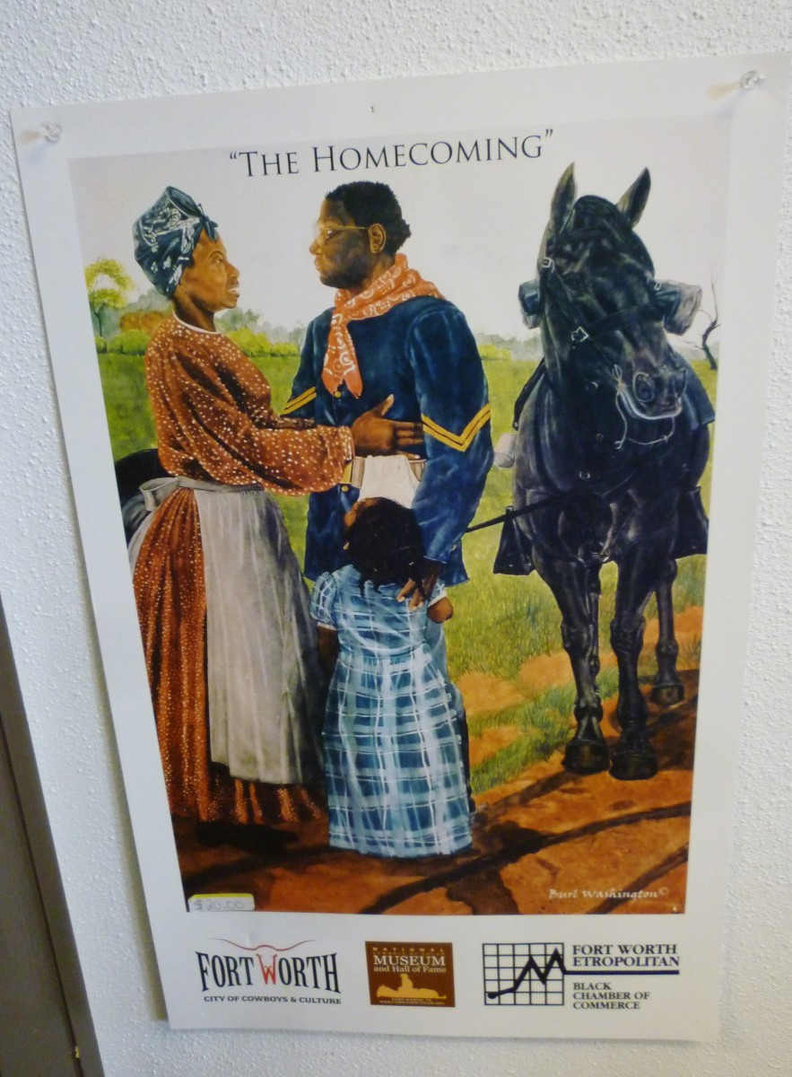 Poster in the Buffalo Soldiers National Museum