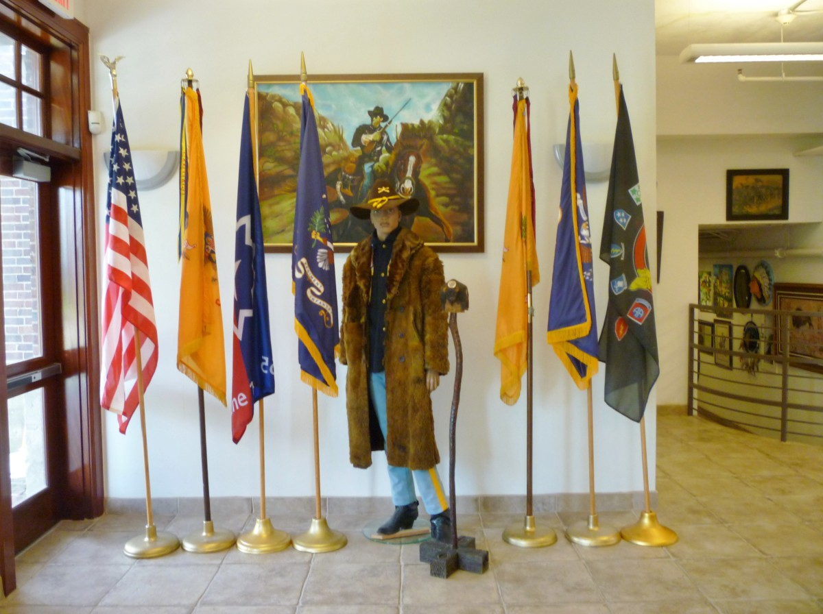Front entrance display