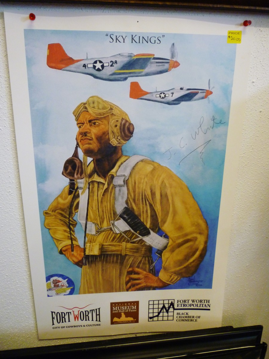Poster in the museum