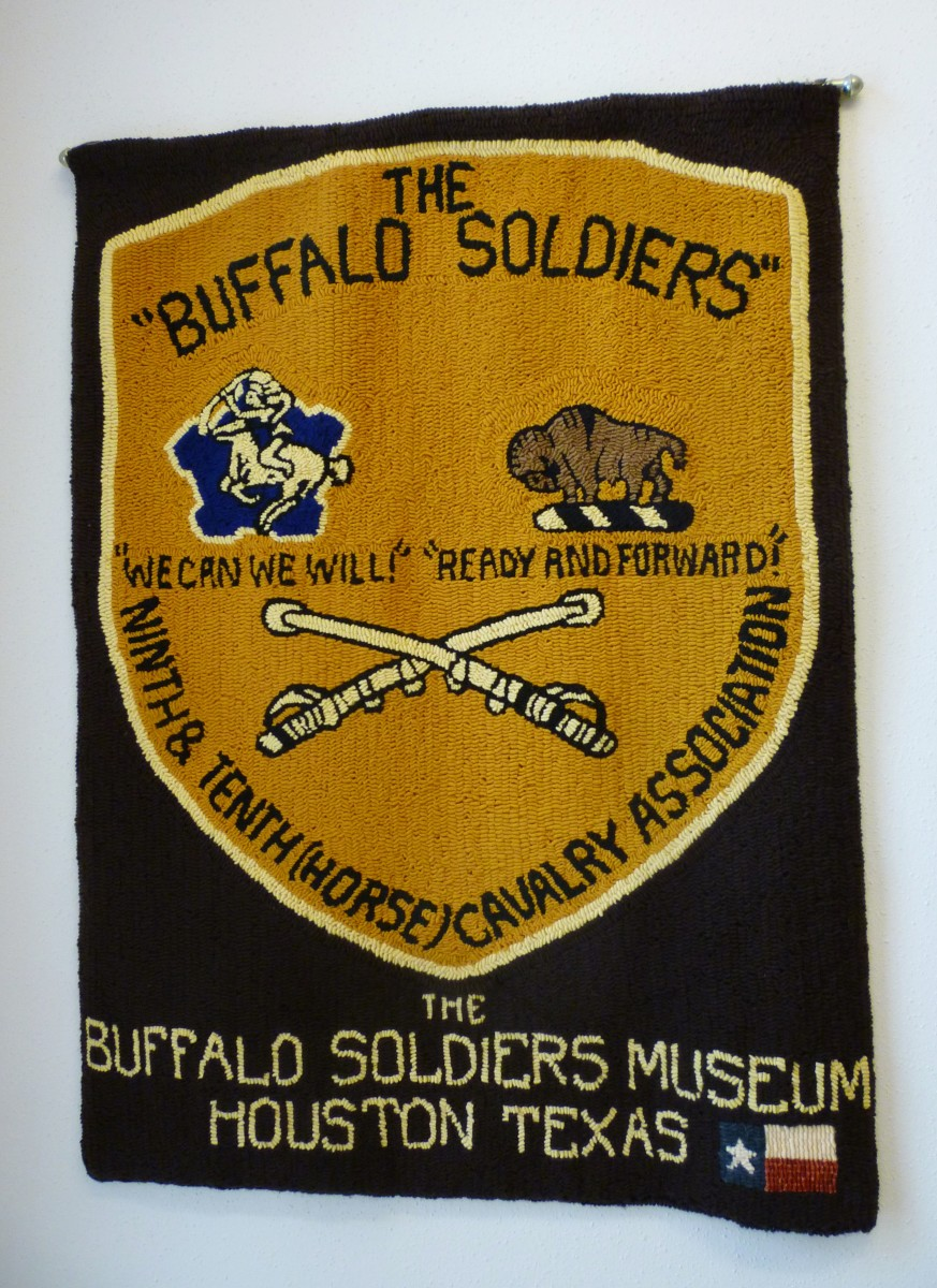 Wall hanging in the Buffalo Soldiers National Museum