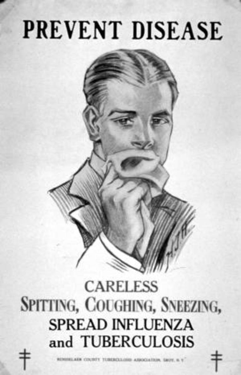A public service poster from 1925.