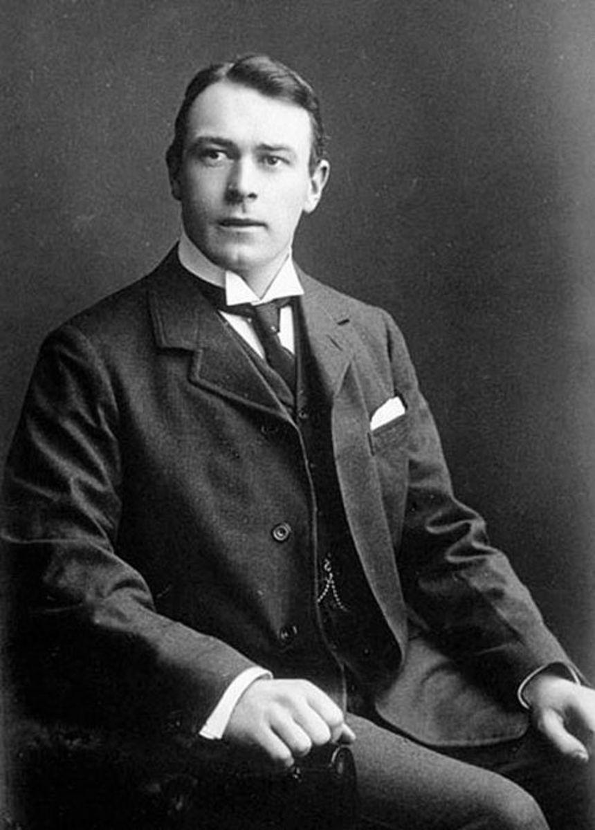 Thomas Andrews, the Titanic's designer.