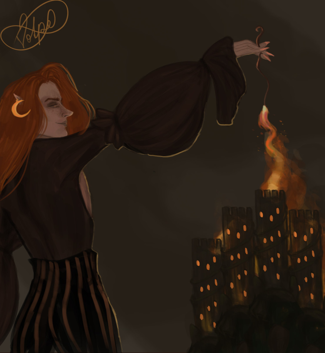 The Fairy Arsonist by Leona Volpe ©2020