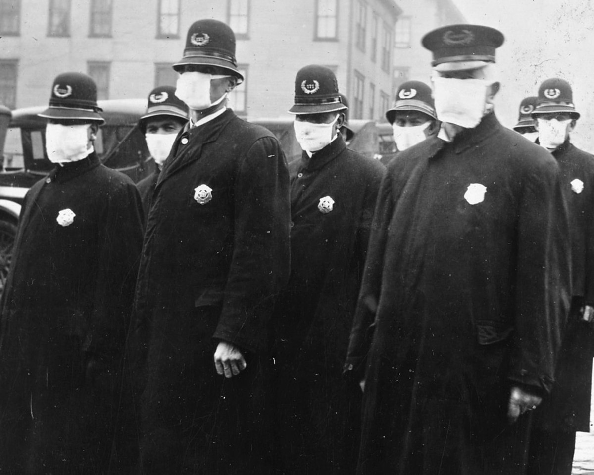 We've been here before during the Spanish Flu Pandemic of 1918.