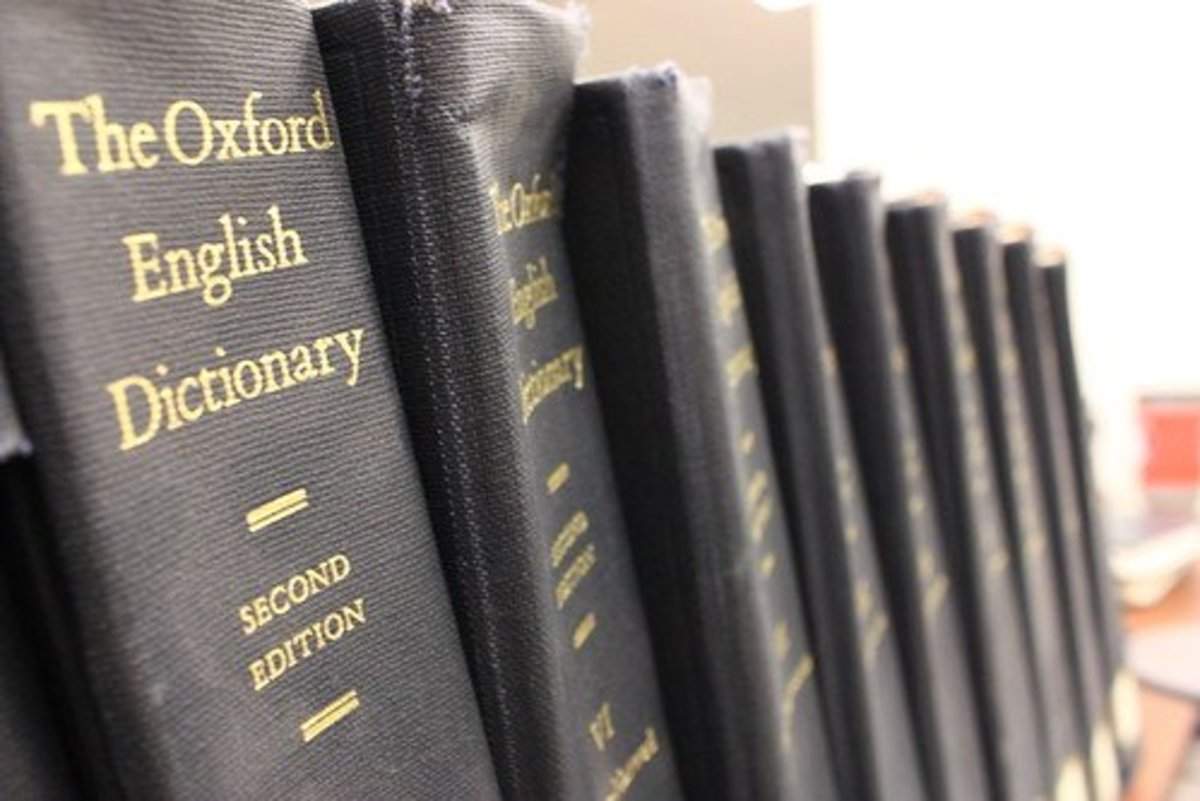 The Oxford English Dictionary could be called the final arbiter of words in the English language.