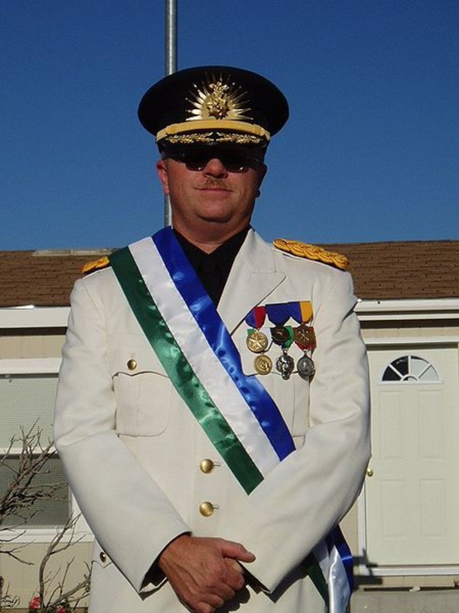 His Excellency President of the Republic of Molossia, Kevin Baugh.