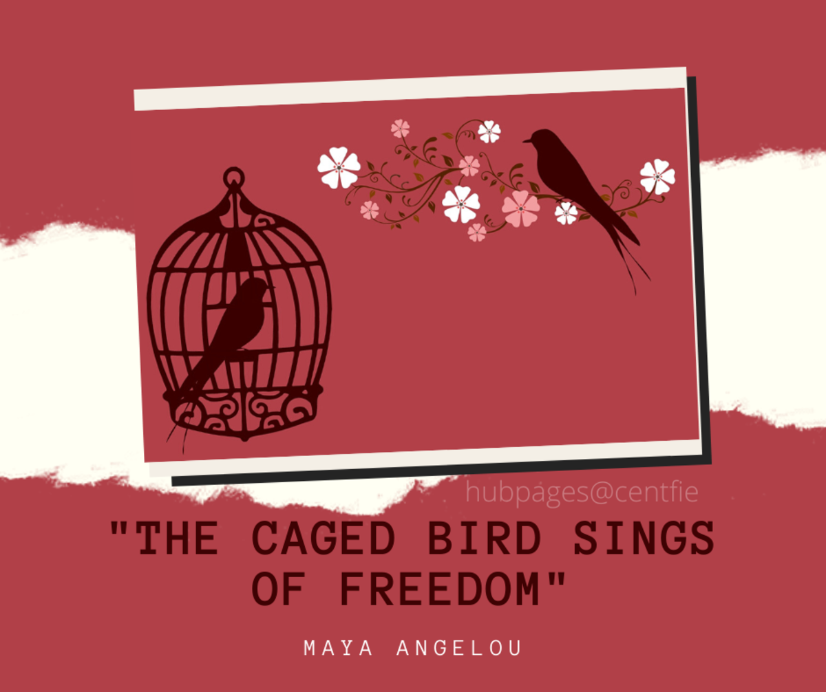 """I know Why the Caged Bird Sings"" by Maya Angelou"
