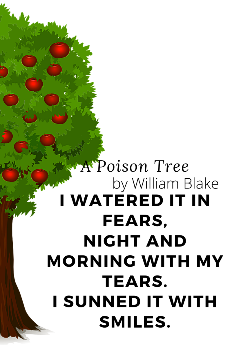 """""""A Poison Tree"""" by William Blake"""