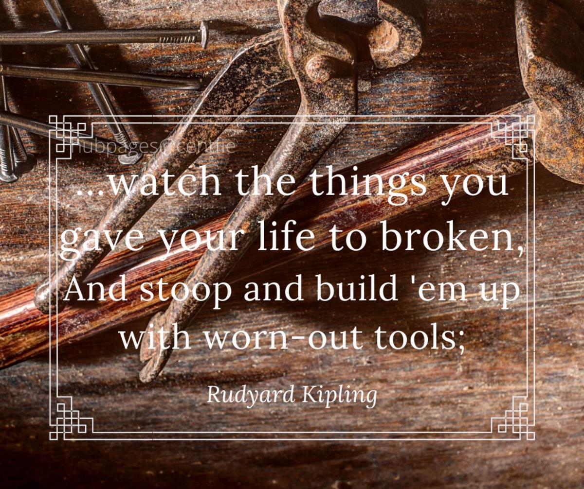 """6. """"If"""" by Rudyard Kipling"""