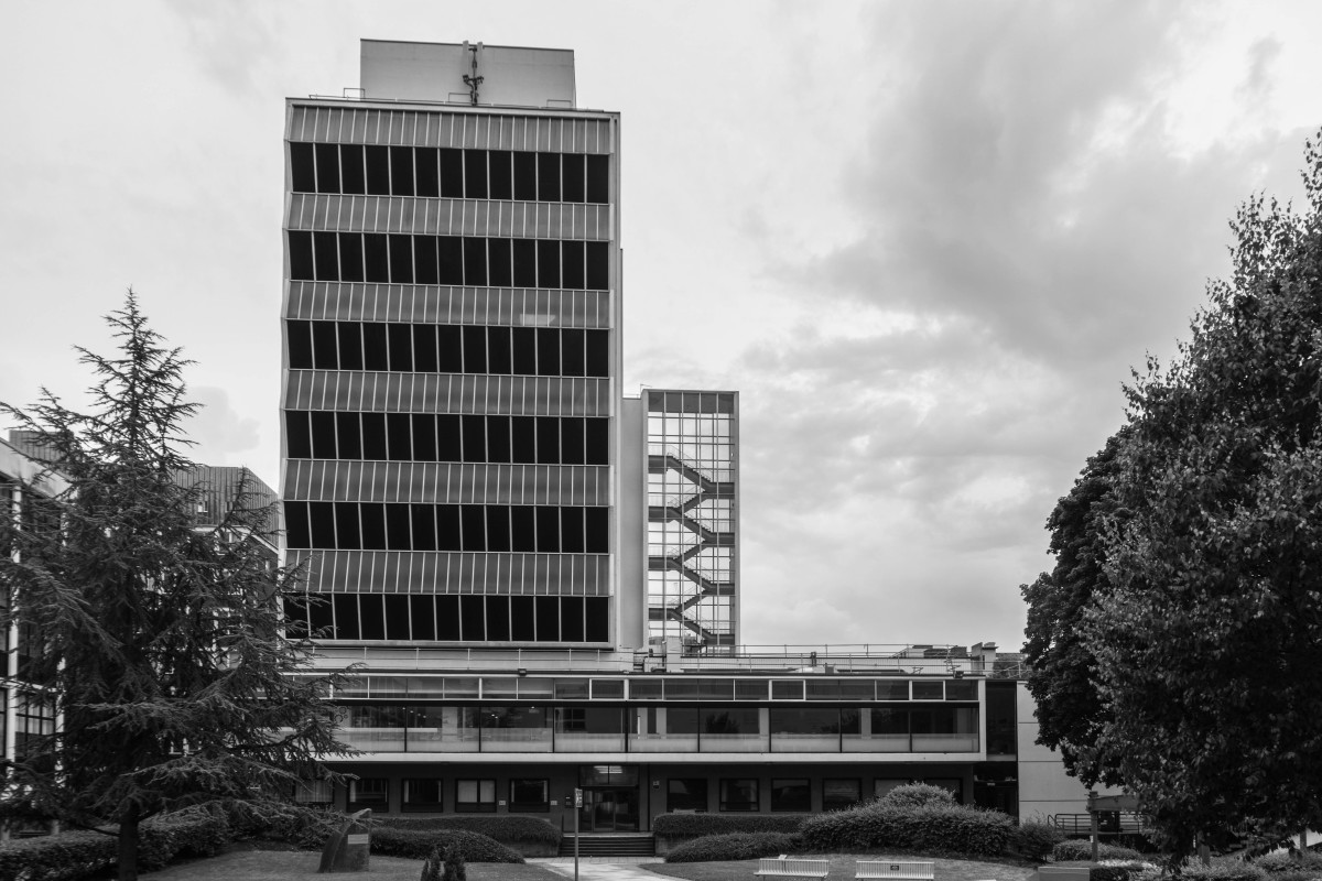 The Renold Building at the former UMIST campus in Manchester