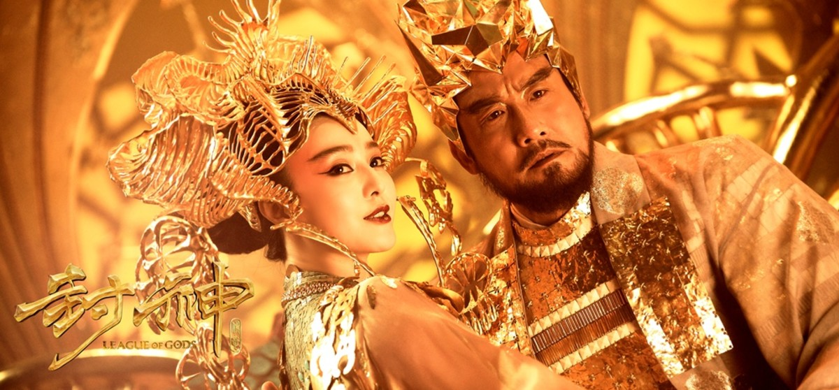 Supernatural depiction of Da Ji with Di Xin in the 2016 movie, League of Gods.