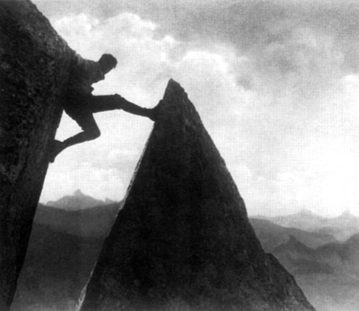 """Mountain of Destiny"" (1924) featuring Lewis Trenker, who Leni would use for her own personal gain."
