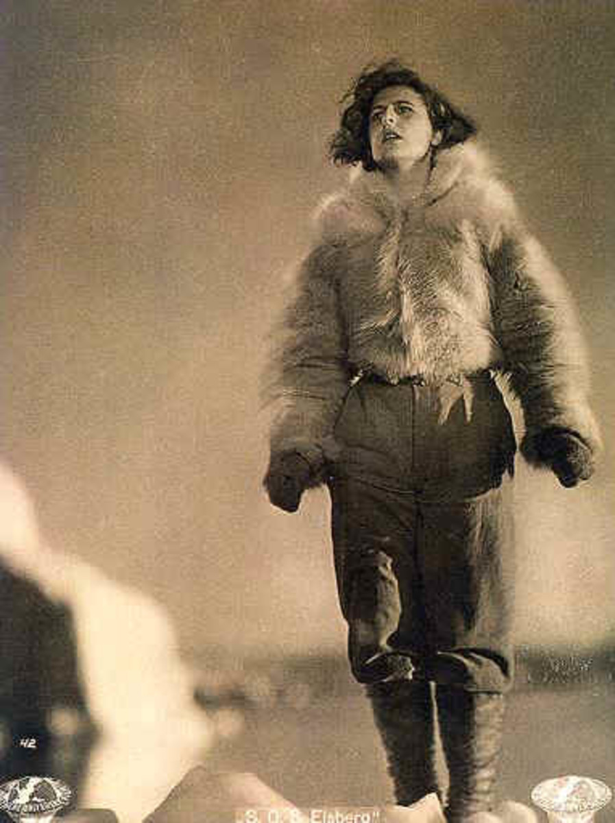 Riefenstahl exploited many people to establish her career in German berg, or mountain, films.