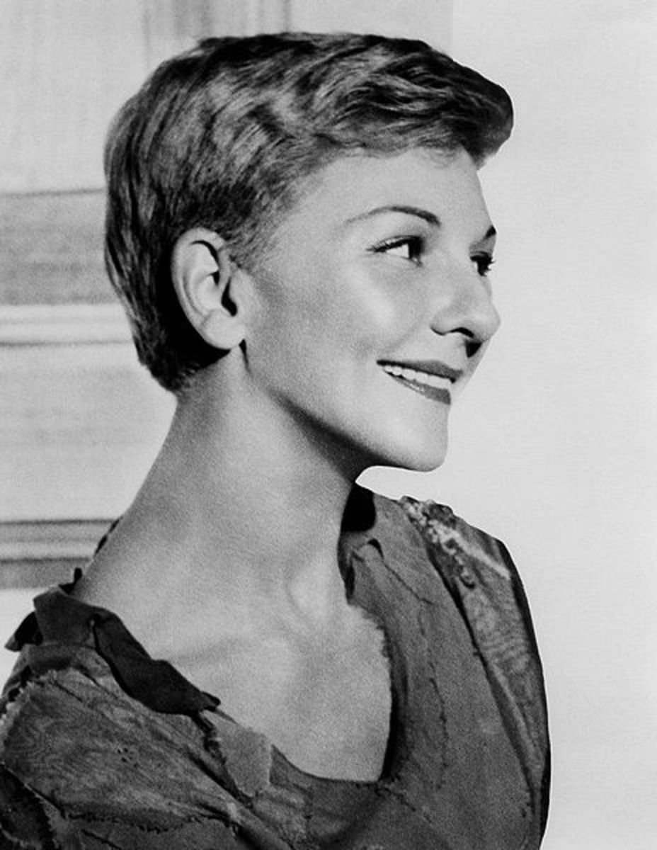 Mary Martin, starring as Peter in the 1954 musical adaptation