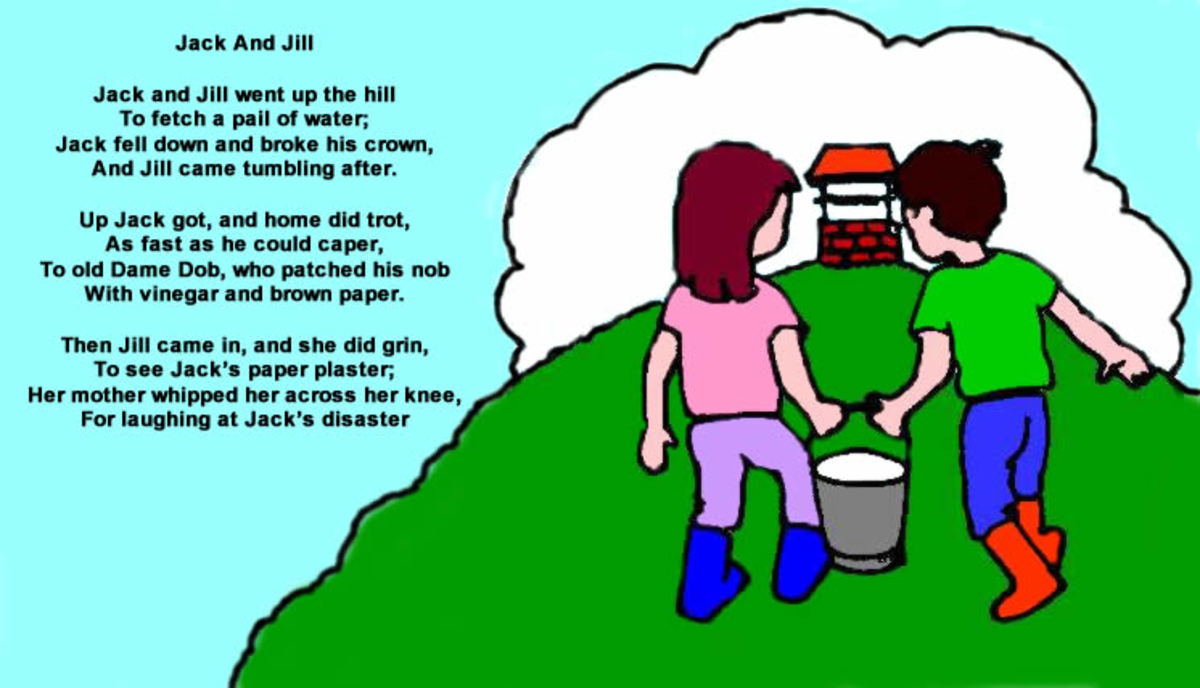 Nursery Rhymes Jack And Jill