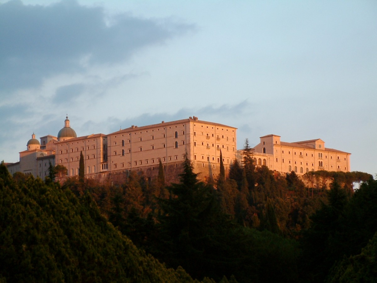 The Restored Convent of Monte Cassino