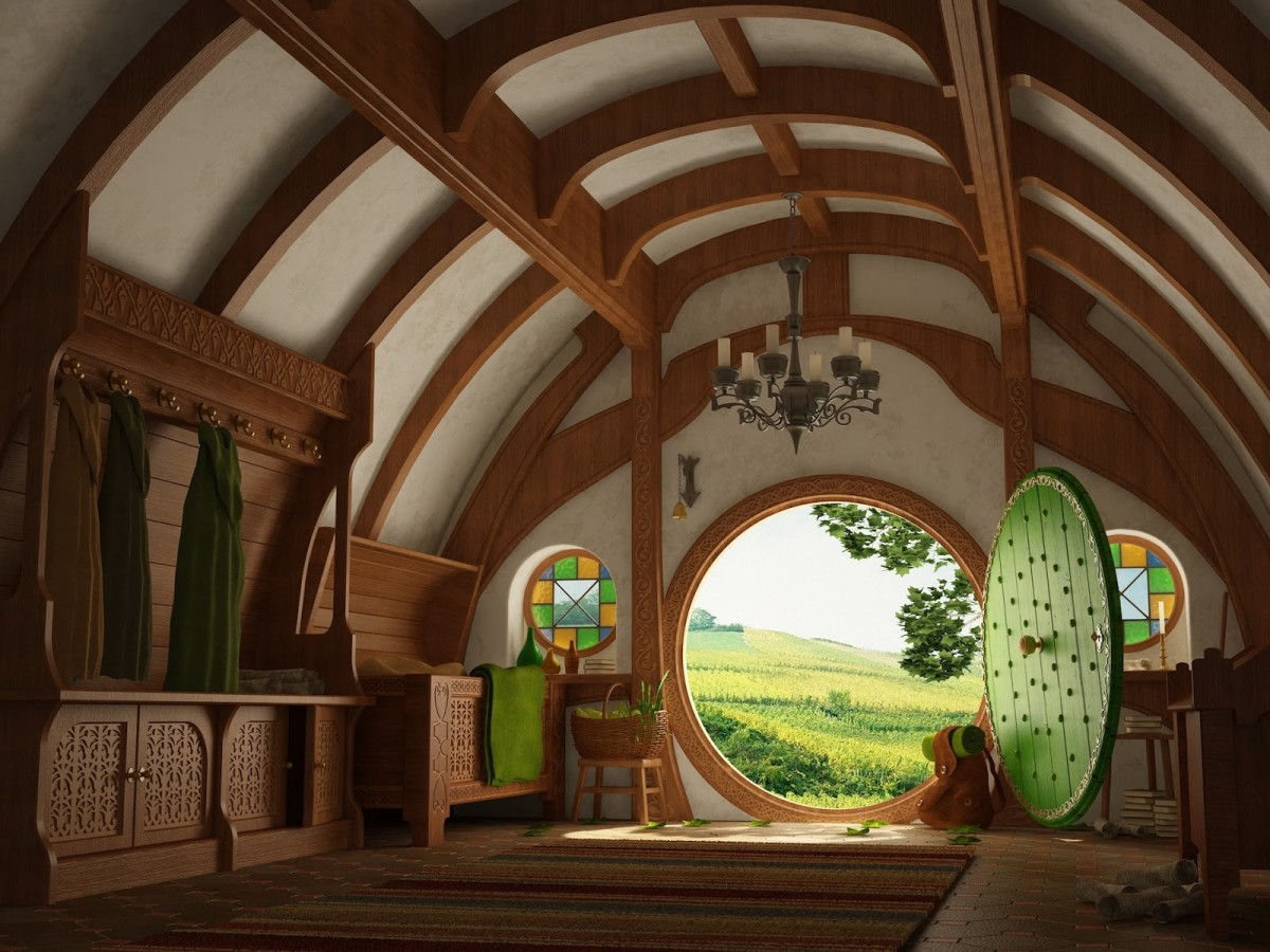 A hobbit hole, and that means comfort.