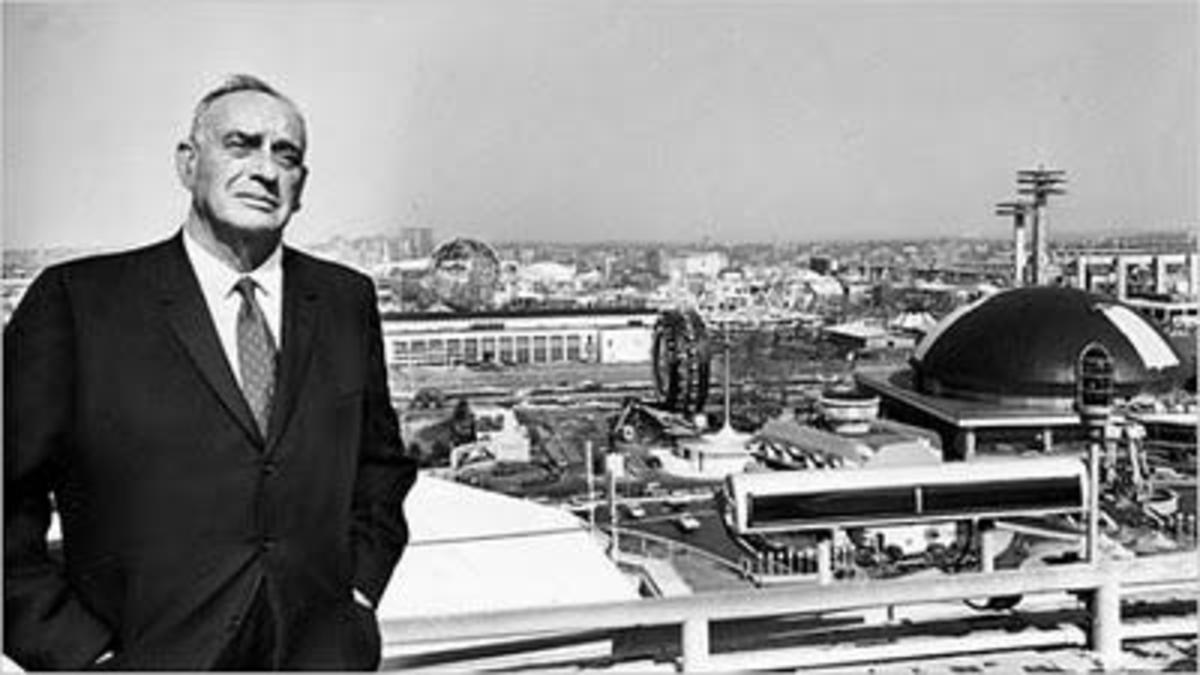 Robert Moses was fully in charge of New York City's second World's Fair