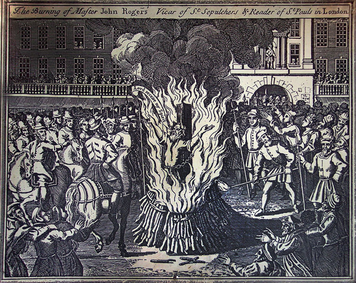 Burning of John Rogers at Smithfield