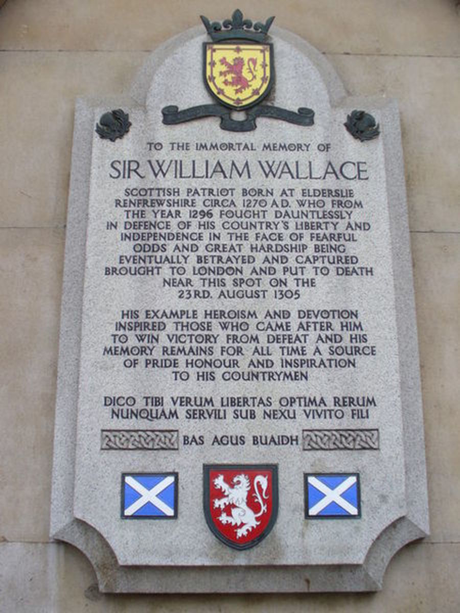 Sir William Wallace Memorial, Smithfield