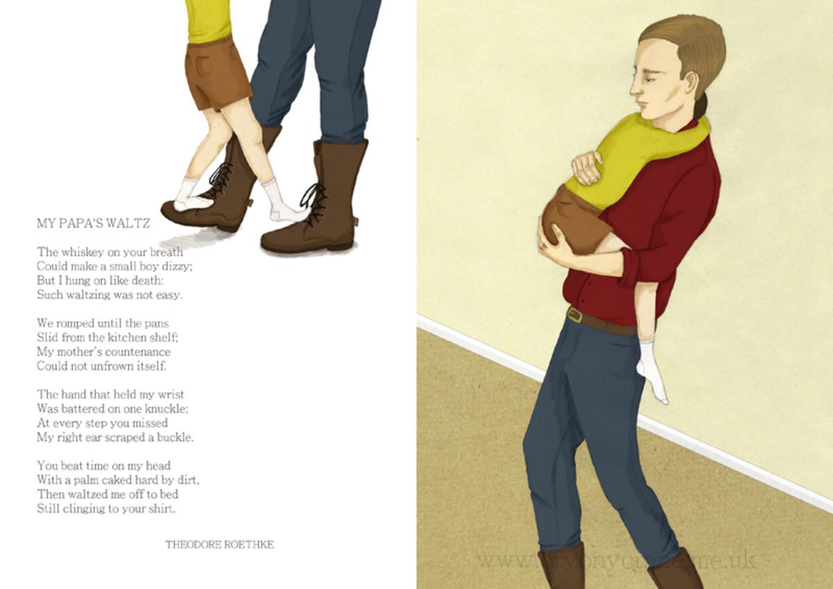 Beautiful illustrations on this blog!