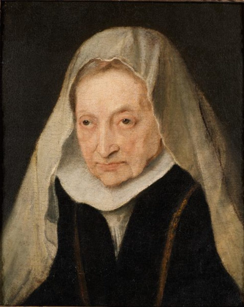 Antony Van Dyck, Portrait of Sofonisba Anguissola (1624), Sackville Collection