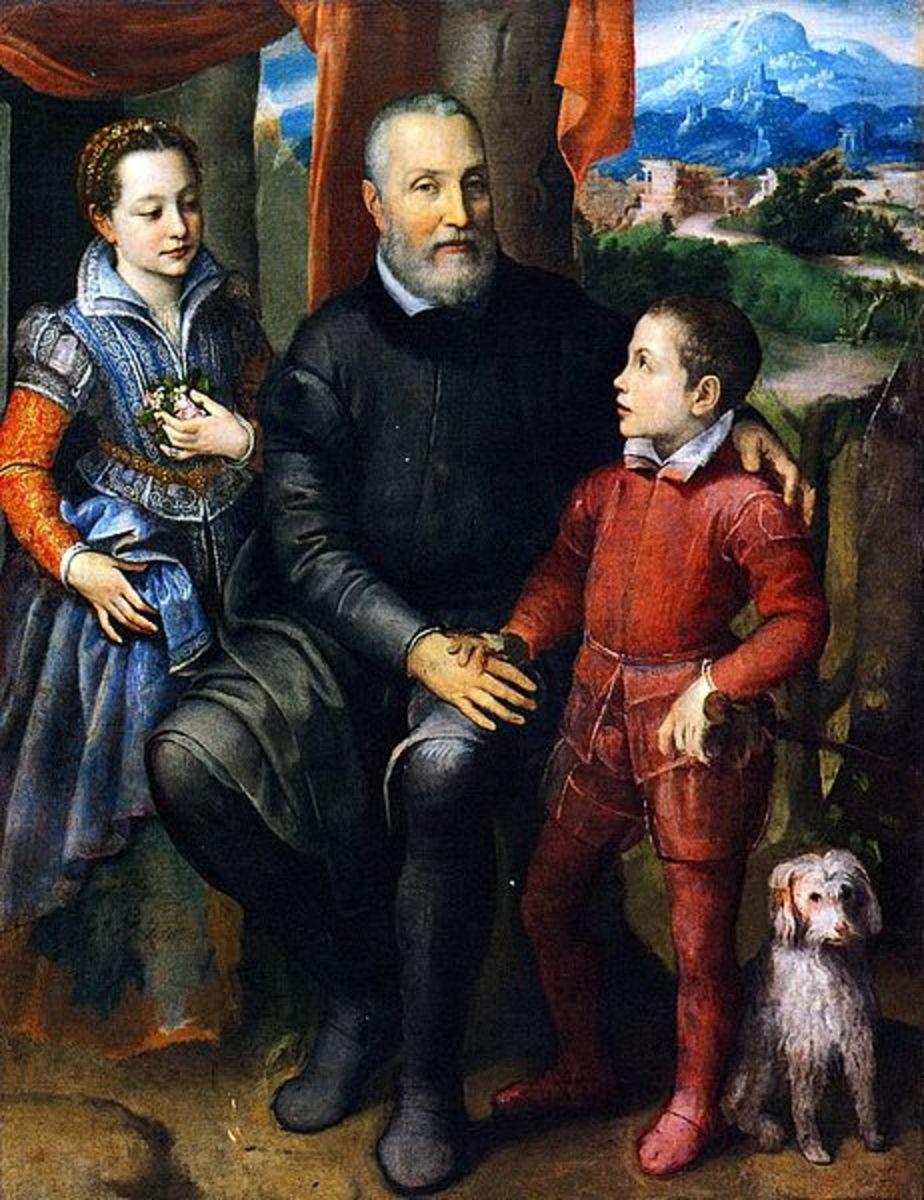 Family portrait (1559), Nivaa, Nivaagaards Malerisamling