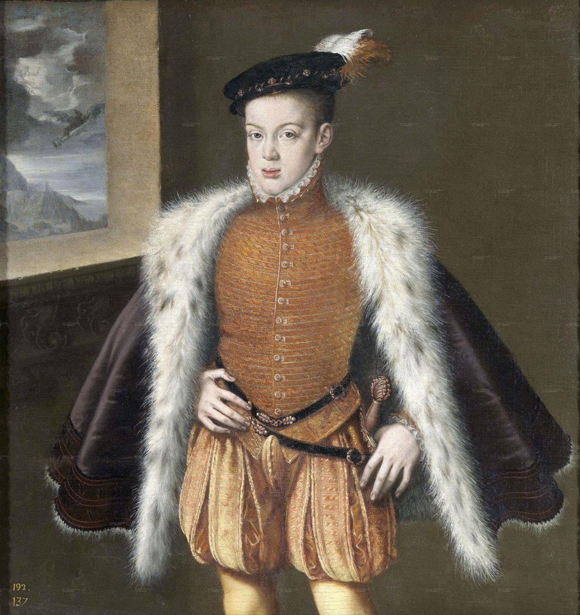 Don Carlos son of the King Philip II (a. 1561), Madrid, Prado Museum