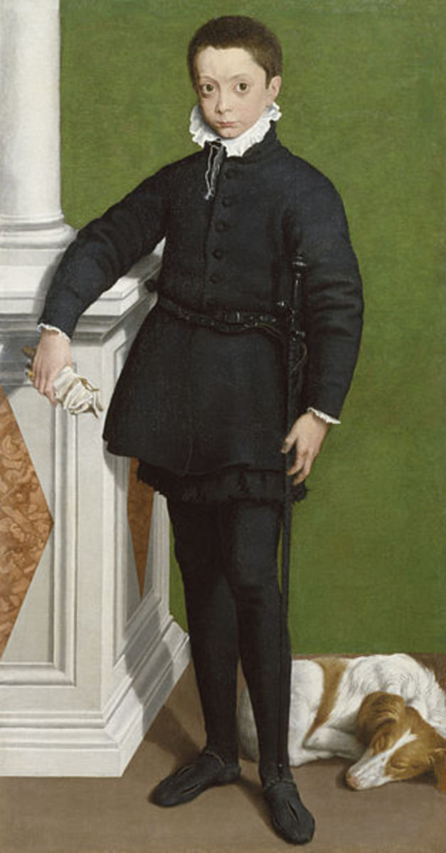 Portrait of Massimiliano Stampa (1557), Baltimore, Walters Art Gallery