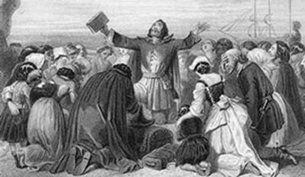 New England Puritans