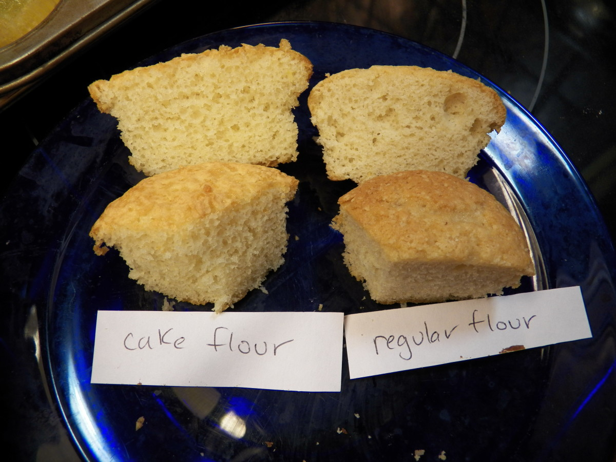 Can I Substitute Regular Flour For Cake Flour