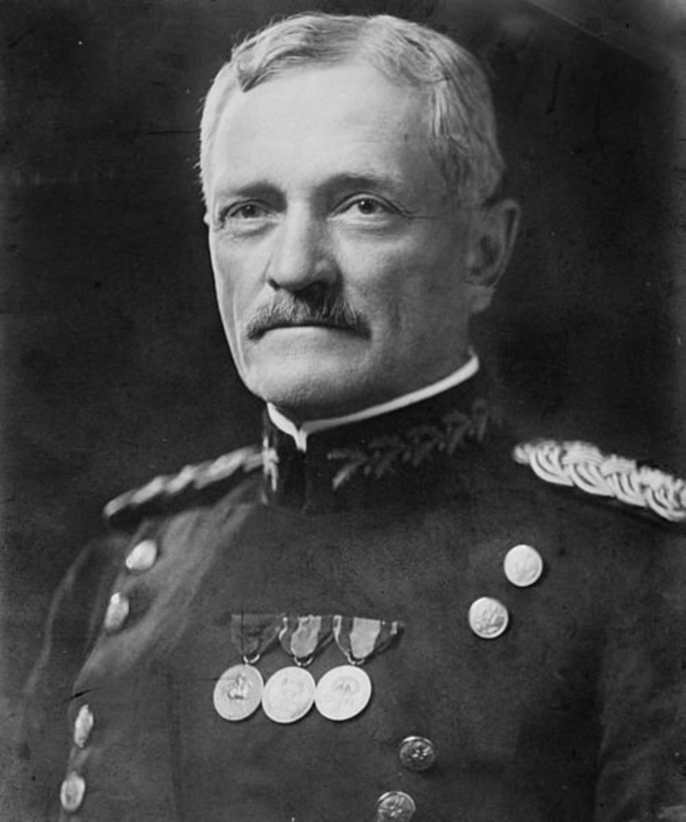 "General John Joseph ""Black Jack"" Pershing (1860 - 1948). Commander of the American Expeditionary Force during the First World War."