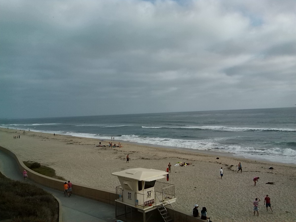 Carlsbad Beach Lifeguard Station 36