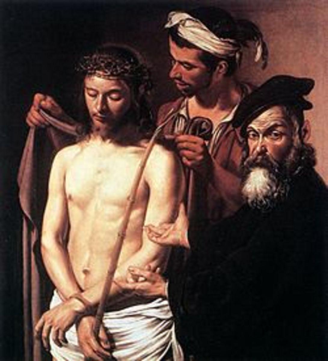 Caravaggio, Ecce Homo (a. 1601), Genoa Musei di Strada Nuova