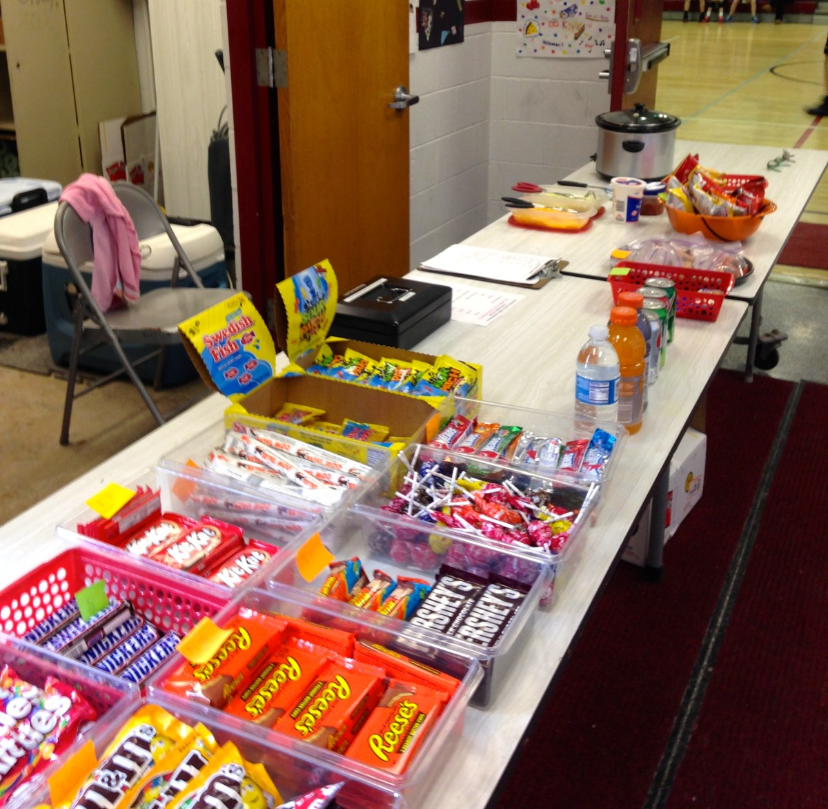 School concession stands can bring in a lot of money.
