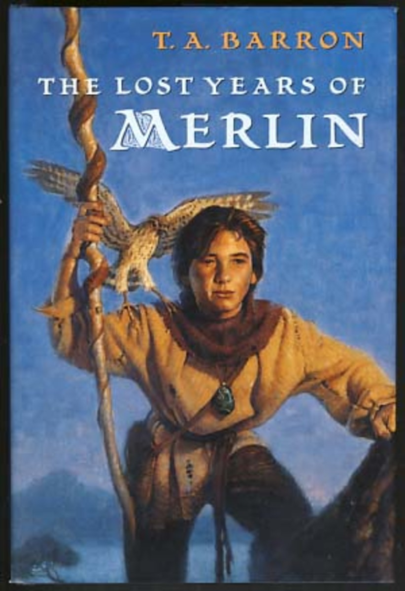 "T.A. Barron's ""Lost Years of Merlin"" series"