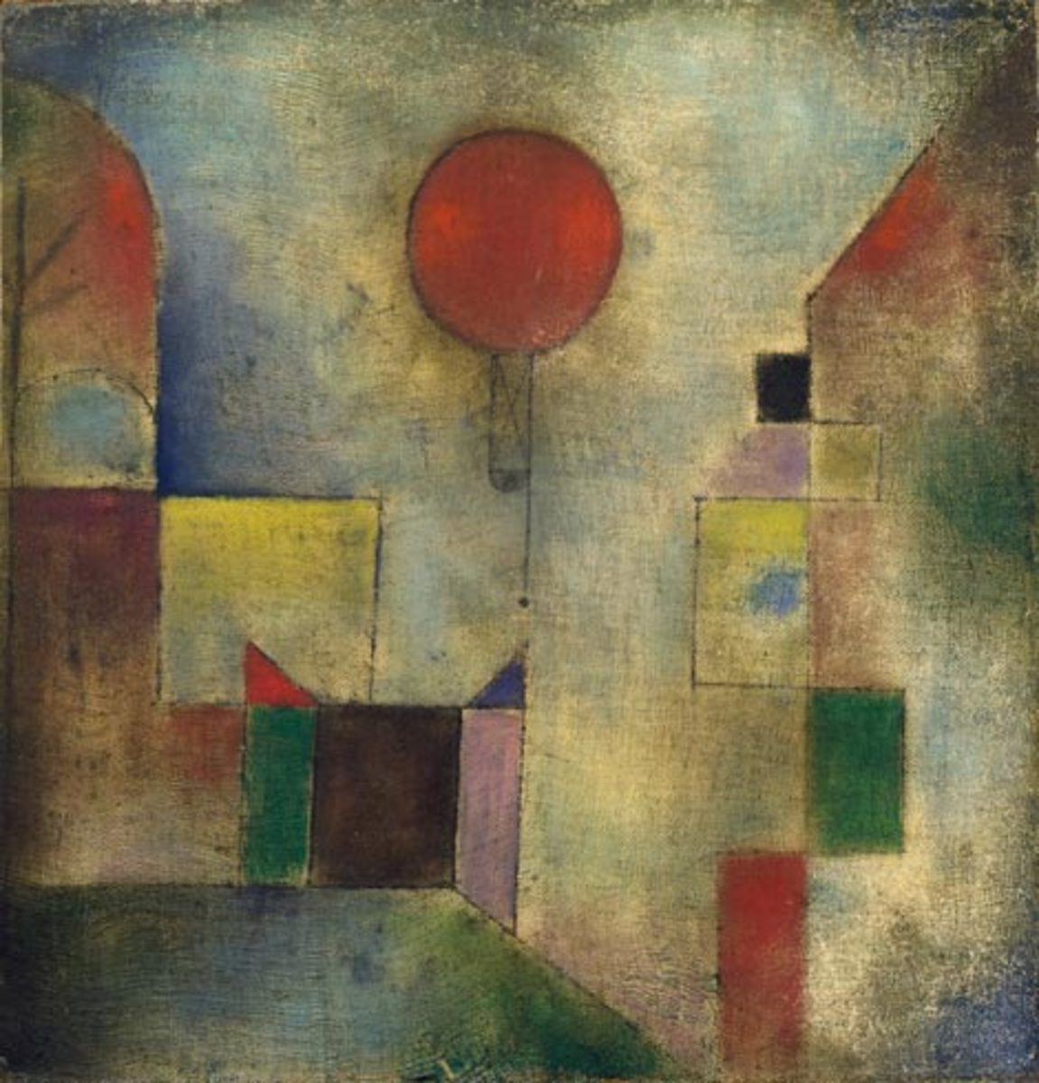 Many of the contemporary art movements of his day influenced Klee. He also made a profound study of color theory.